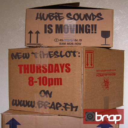 Hubie Sounds is moving!