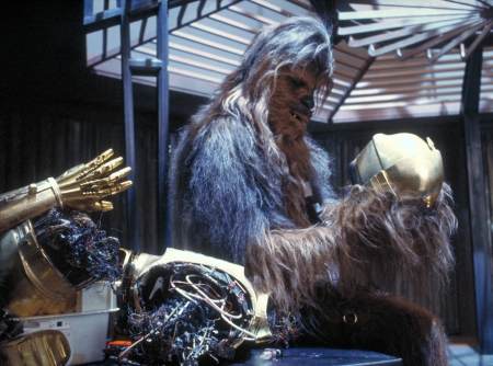 """Chewie's on it..."""