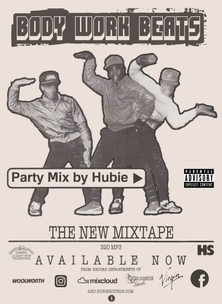 Body Work Beats - Mixed by Hubie